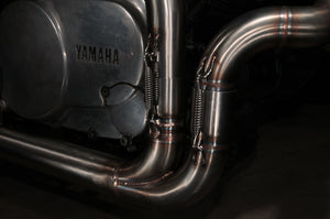 Yamaha XV and TR1 SLASHCUT exhaust (ex. VAT) - MAD Exhausts
