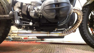 BMW R80 or BMW R100 bobber exhausts  (ex. VAT) - MAD Exhausts
