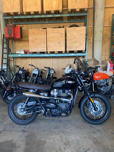 Triumph Bonneville Exhaust - High Twins  (ex. VAT) - MAD Exhausts