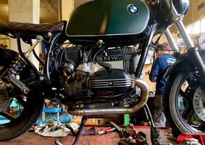 BMW R-series classic exhaust 2-1 (ex. VAT) - MAD Exhausts