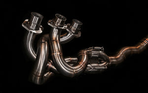 BMW k75 exhaust
