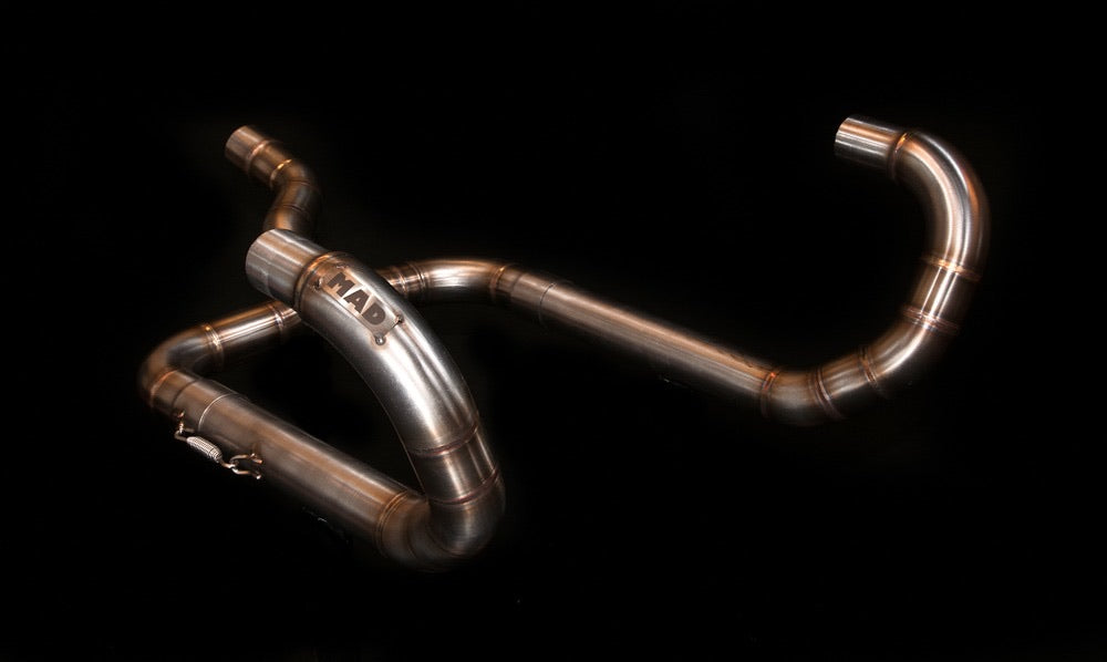 BMW R-series classic exhaust 2-1 (ex. VAT)