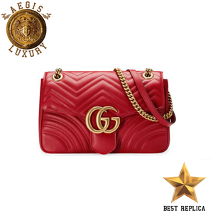 965f41a0f1 replica-Gucci-MARMONT-Matelassé-Red-Bag-Aegis-Luxury