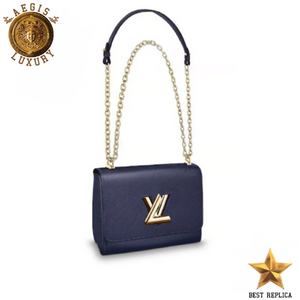 efa244353d1f Louis Vuitton TWIST MM NAVY BLUE  3053 – Aegis Luxury