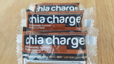 Pakket met 20 mini Chia Charge Flapjacks