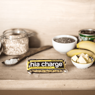 Chia Charge Bars 10 Box Chia Charge Flapjacks + 1 FREE