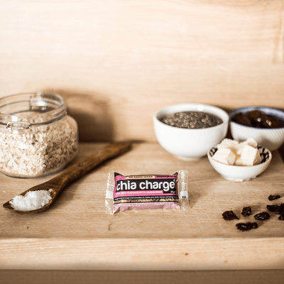 Chia Charge Bars Mini Chia Charge Flapjack 18 Pack