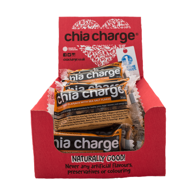 Chia Charge Bars Original Mini x 18 Mini Chia Charge Flapjack 18 Pack