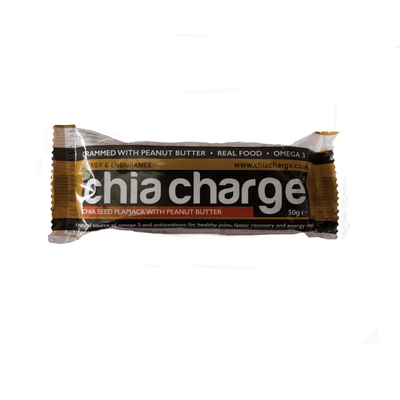 Chia Charge Bars Peanut Butter Only Latest EDITION  - Peanutty Flapjacks Plain and Cocoa  Peanut Flapjacks 10 + 2 EXTRA FREE