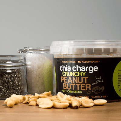 Chia Charge Nut Butters Peanut Butter & Chia Seeds Crunchy 500g