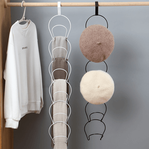 Over-The-Door Hat Storage Rack