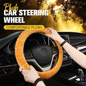 Plush Car Steering Wheel