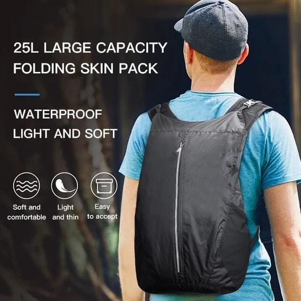 The ultimate backpack that fits in your pocket
