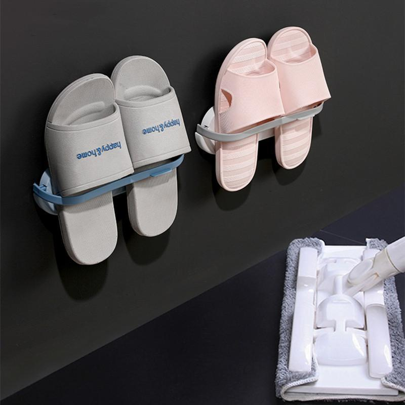 Multifunctional Bathroom Slippers Rack