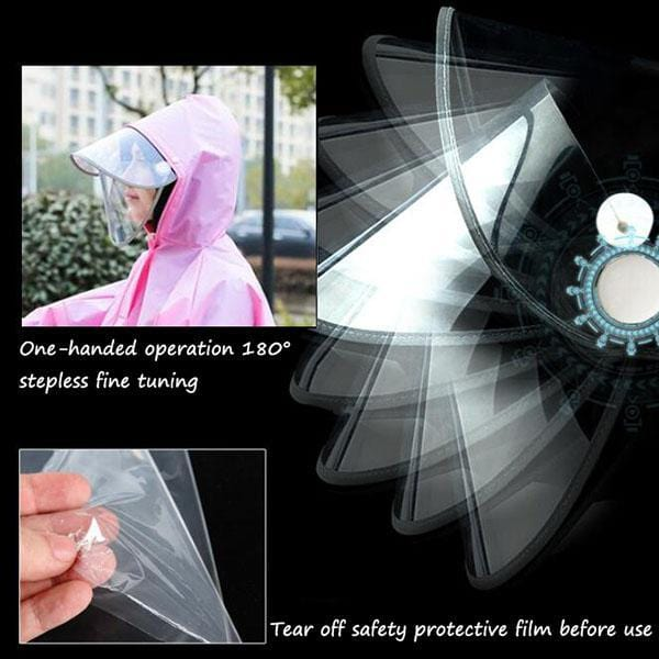 Creative Night Reflective Raincoat