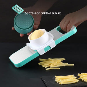 Stainless Steel 3-in-1 Vegetable Cutter Slicer