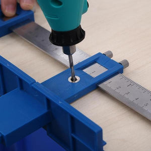 Adjustable Punch Positioning Ruler
