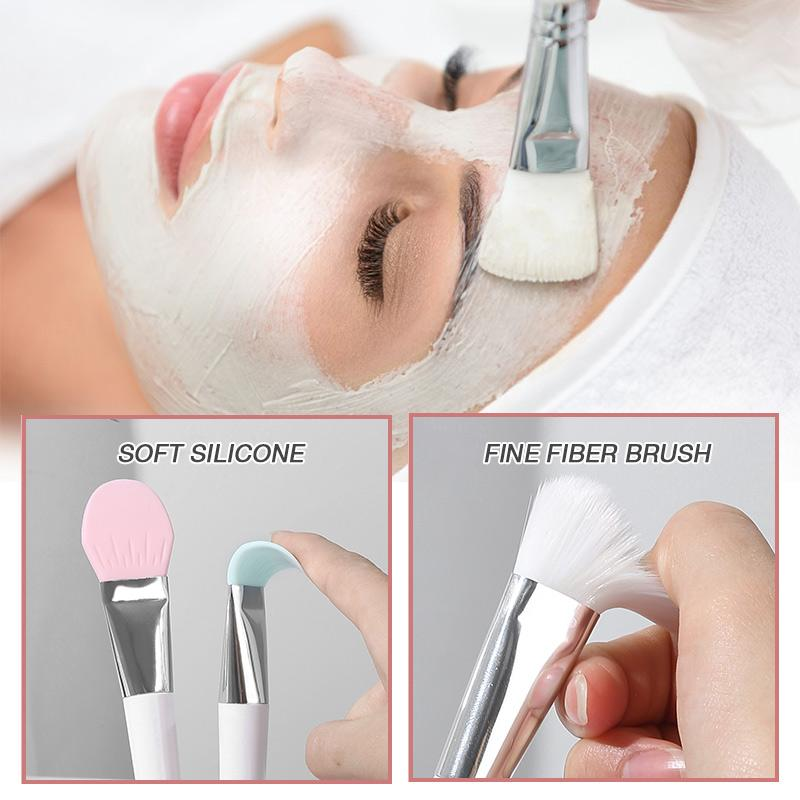 Double-Ended Soft Bristle Silicone Brush