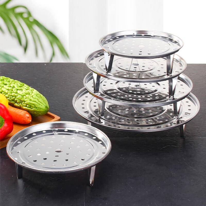 Multifunctional Thick Stainless Steel Steaming Rack