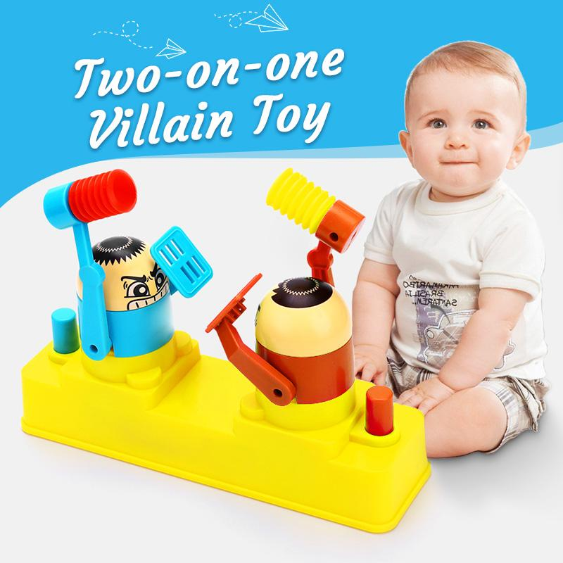 Two-on-one Villain Toy
