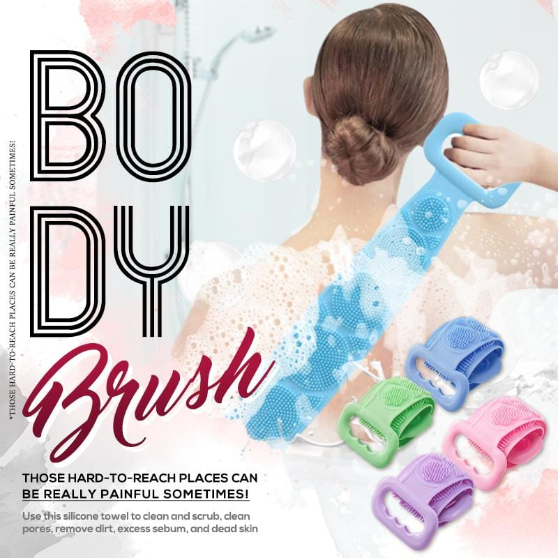 (50% OFF)Silicone Bath Body Brush