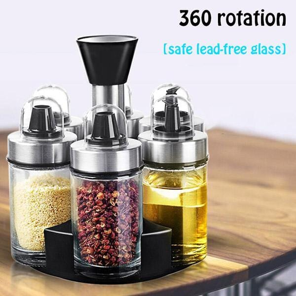 Rotating Seasoning Pot