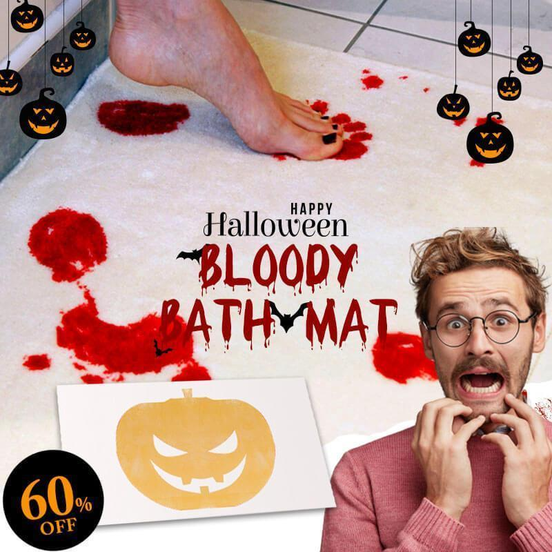 (50% OFF)Halloween Flash Sale-Bloody Bath Mat