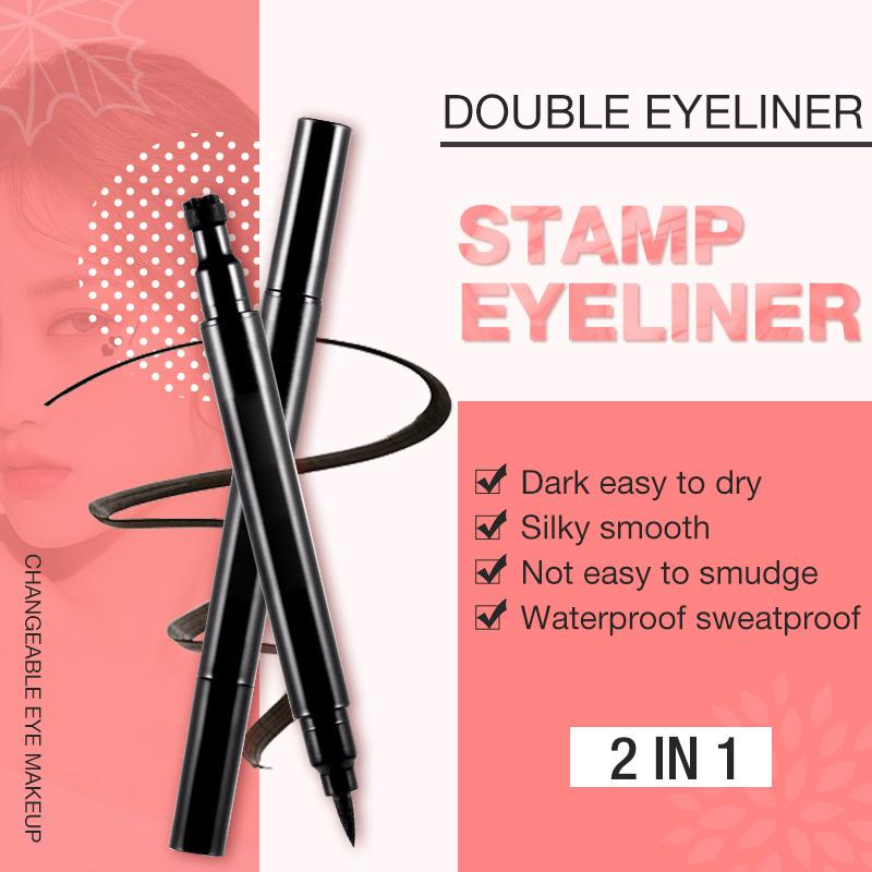 (50% OFF)Double Eyeliner Stamp Eyeliner 2 in 1