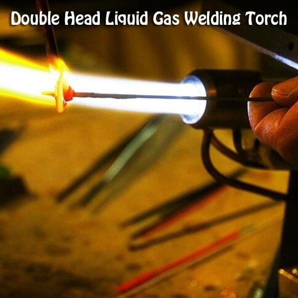 Double Head Liquid Gas Welding Torch