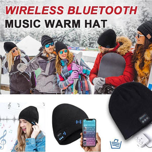 Wireless Bluetooth music warm hat