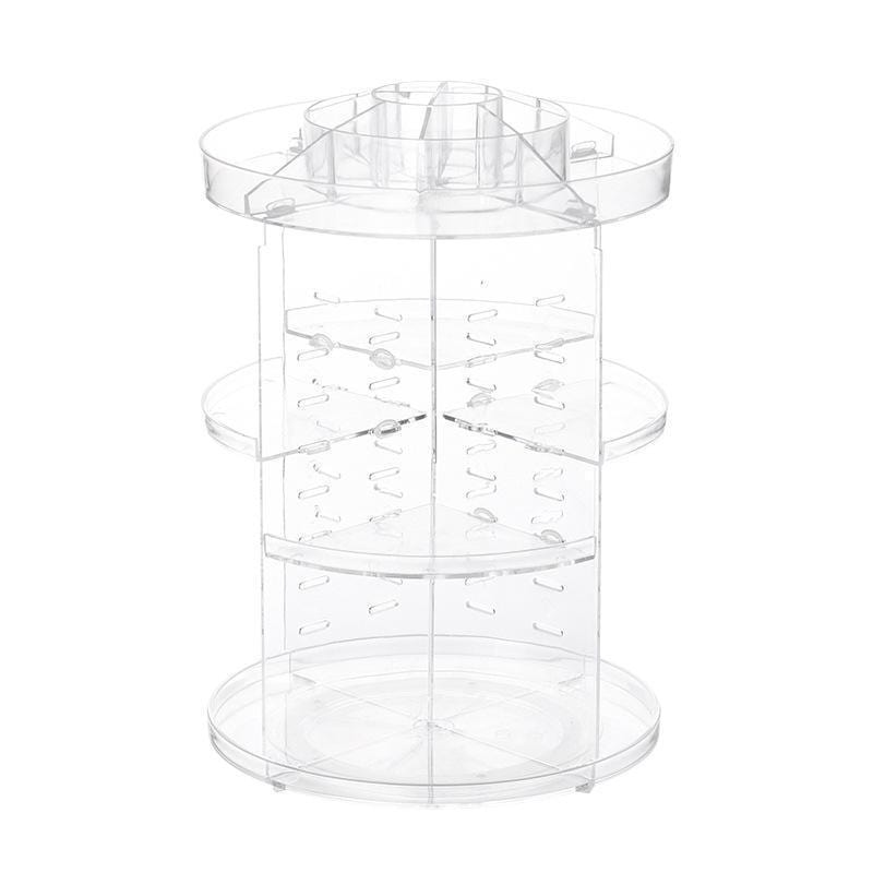 360 Rotating Adjustable Makeup Organizer
