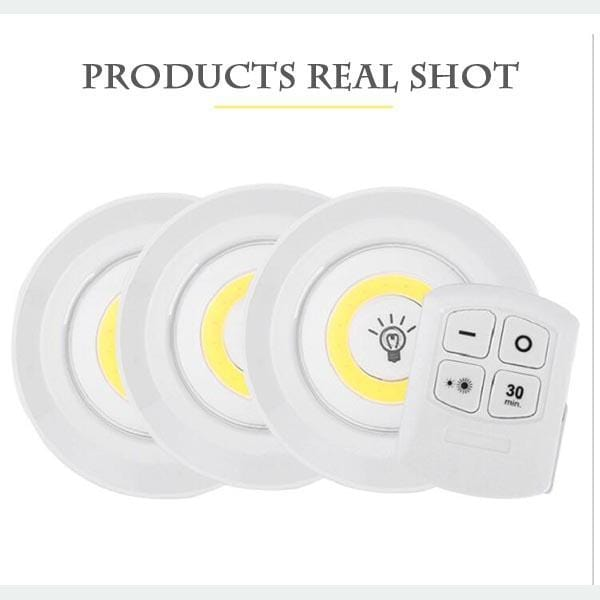 LED Wireless Remote Control Lamp