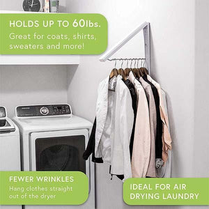 Wall Hanging Retractable Hidden Drying Rack