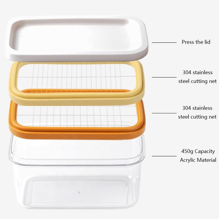 Butter Cheese Slicer Sealed Storage Box