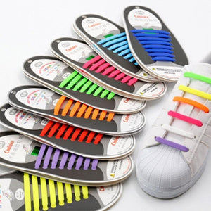 Tie Free Silicone Shoelace