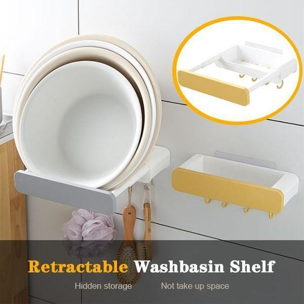 Punch-free Retractable Shelf