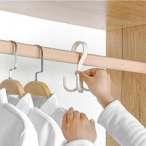 360 Degree Rotating Household Hanger Hook 4pcs