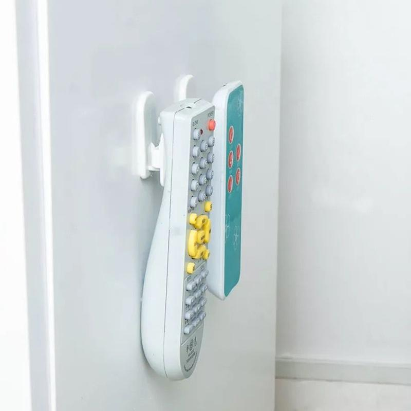 Multi-function paste TV air conditioner remote control hook