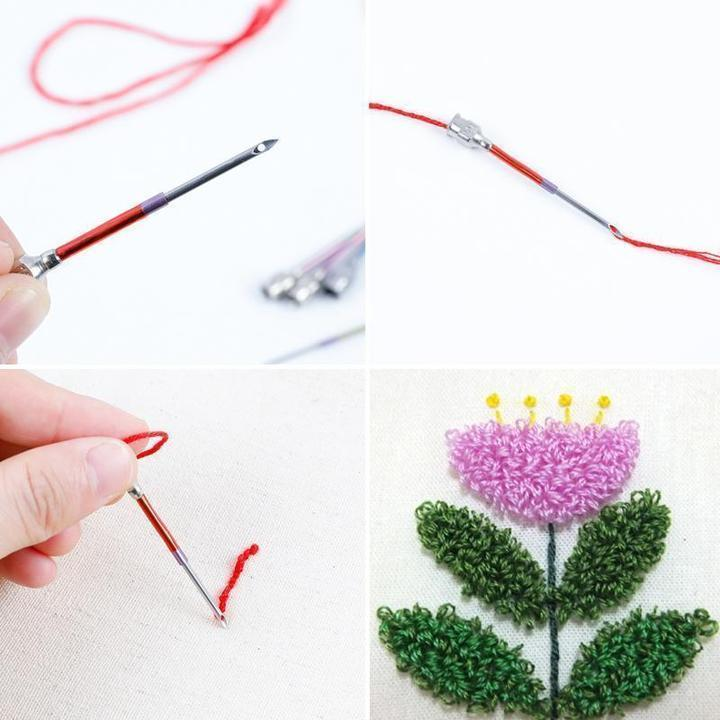 Punch Needle Embroidery Kits