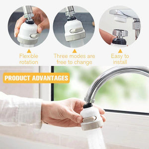 (50%OFF)360° Rotating Faucet Booster