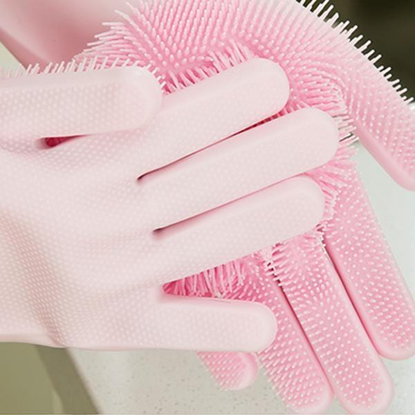 Silicone Cleaning Gloves(1 Pair)