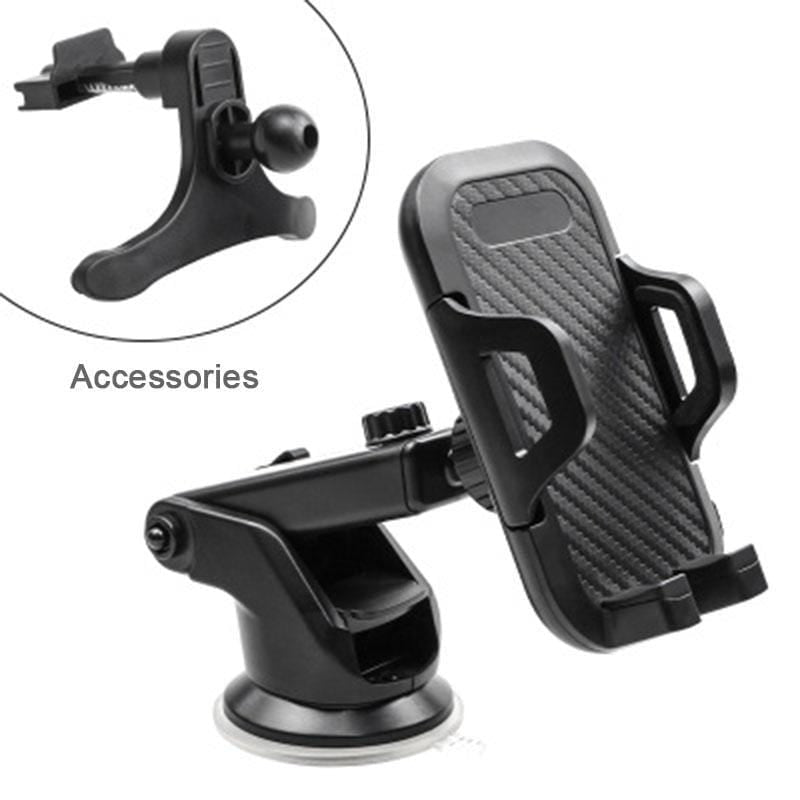 Strong Suction Carbon Fiber Mobile Phone Holder