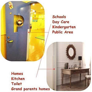 CHILD SAFETY HINGE GUARD