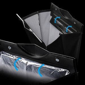Car Back Seat Hanging Garbage Bag