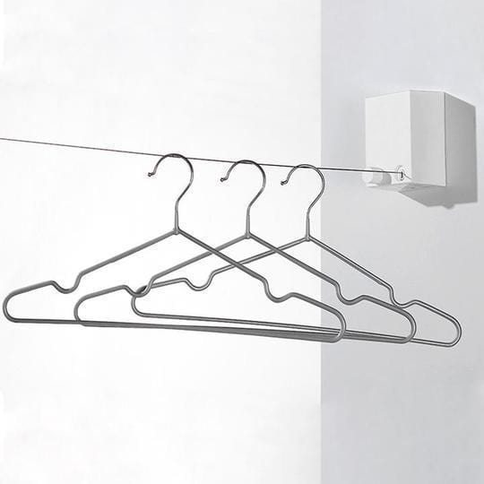 Telescopic Stainless String Invisible Clothesline