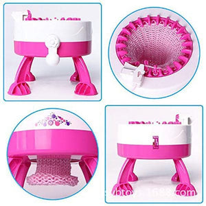 Hand-cranking DIY Knitting Machine