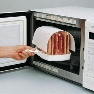 Microwave Bacon Cooker Tray Rack