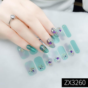 3D Waterproof DIY Manicure Nail Sticker