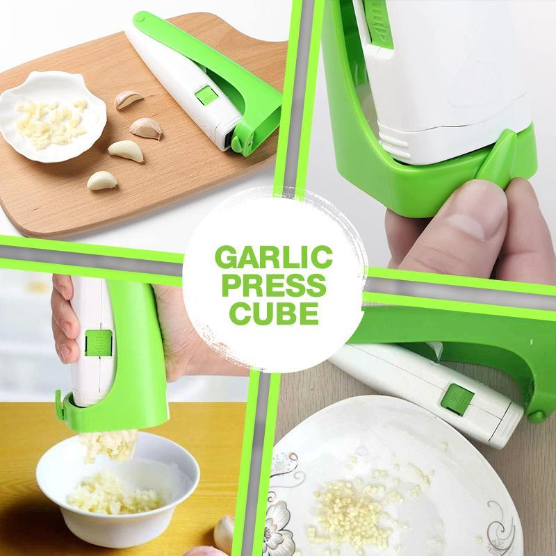 Multi-purpose Garlic Press Cube
