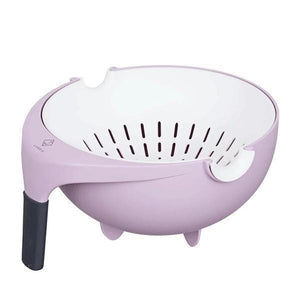 Double Wash Drain Basket